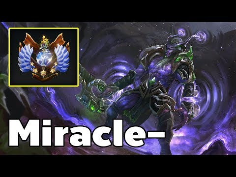 Miracle - Pro Faceless Void Carry Rank MMR Game