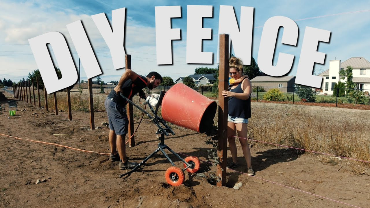 DIY FENCE INSTALLATION | Extreme DIY Home Improvement Outdoor Projects in a Week!