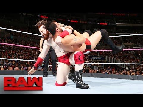 Cesaro & Sheamus vs. Raul White & Mark Carradine: Raw, Oct. 3, 2016