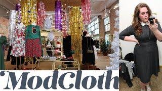 ModCloth Inside the Dressing Room! | Plus Size Fashion |
