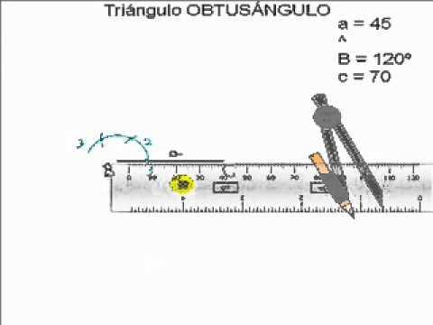 Construcci n de un tri ngulo obtus ngulo youtube for Construccion de un vivero paso a paso