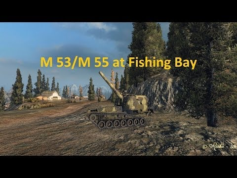 M 53   M 55 Fishermans Bay