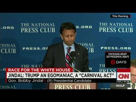 Jindal attacks Trump campaign