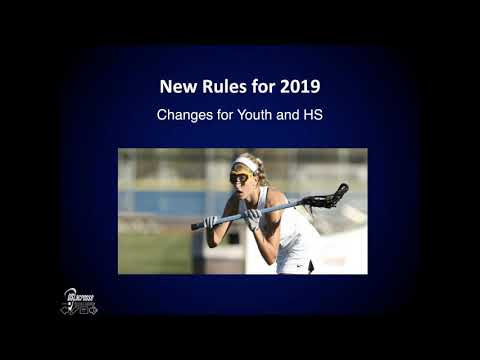 2019 Girl's Youth Rules Video