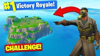 The *SPAWN ISLAND* CHALLENGE In Fortnite Battle Royale! thumbnail