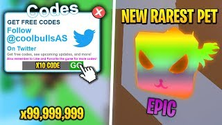*EPIC* ALL WORKING CODES for PET RANCH SIMULATOR! (Roblox)
