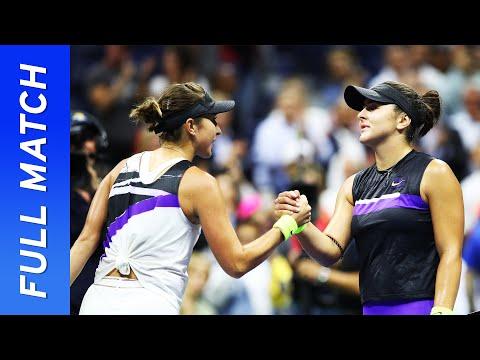 Bianca Andreescu vs Belinda Bencic Full Match   US Open 2019 Semifinal