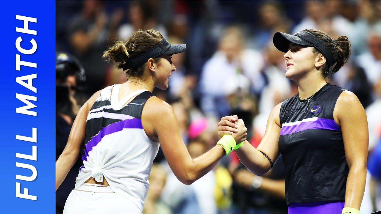 Bianca Andreescu vs Belinda Bencic Full Match | US Open 2019 Semifinal