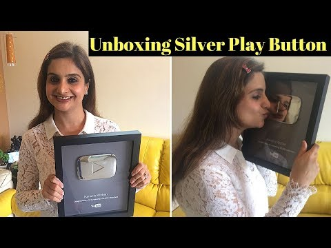 🔴 LIVE: Unboxing Of Youtube 100 K Silver Play Button : Kanak's Kitchen
