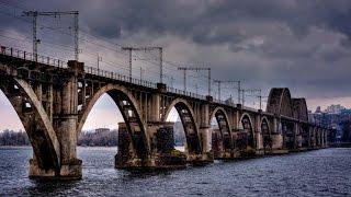 ж.д. перегон Днепр Южный–Нижниднепровск Узел/ railway run Dnepr South– Nizhnidneprovsk Node