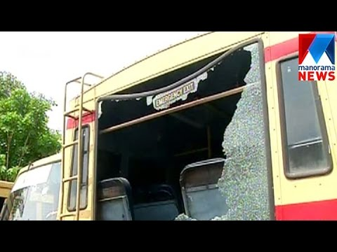 6 KSRTC Buses Attacked In Pathanamthitta  | Manorama News