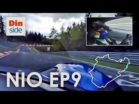 Elbilen NIO EP9 knuste fartsrekorden på Nürburgring