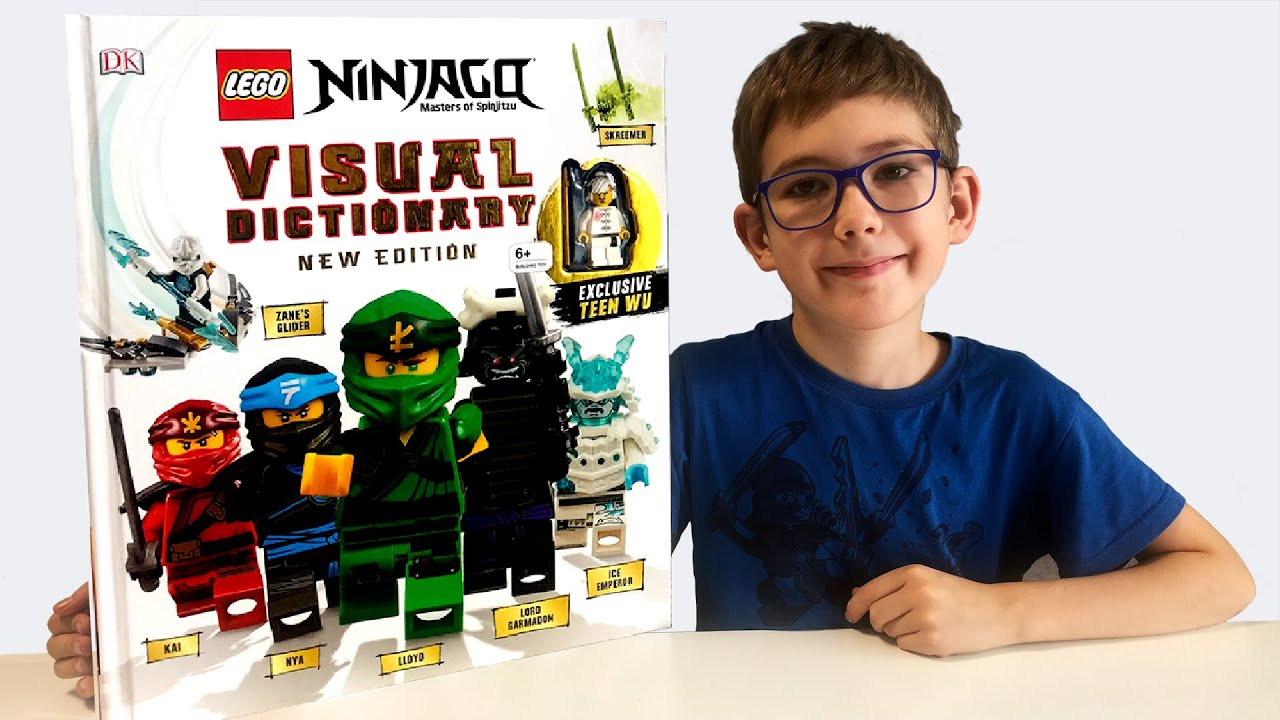 Timka LEGO Ninjago Visual Dictionary Book 2019. New ...