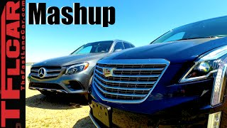 2017 Cadillac XT5 vs. Mercedes-Benz GLC300 Mashup Review: And the Winner is...