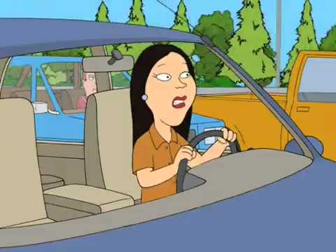 Family Guy - Asian Woman Driver