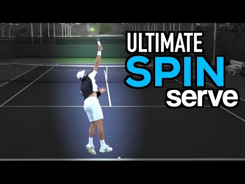 ULTIMATE Serve Lesson: Technique for MAXIMUM SPIN