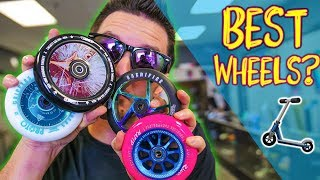 What Are The BEST Wheels? // Fastest & Strongest Scooter Wheels