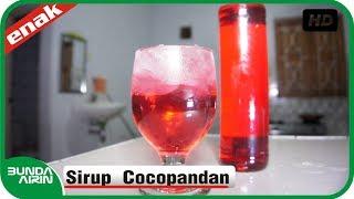 Resep Cara Membuat Sirup Cocopandan - Resep Minuman Es Segar - Kuliner Indonesia - Bunda Airin