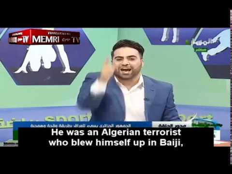 Iraqi Sports Commentator Lashes Out at Algerians for Affronting Iraq during Soccer Match
