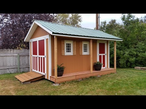 diy 10x16 storage shed