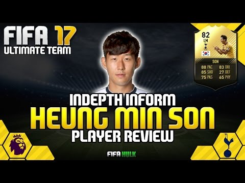 Fifa 17 if heung min son review fifa 17 ultimate team for Son heung min squadre attuali