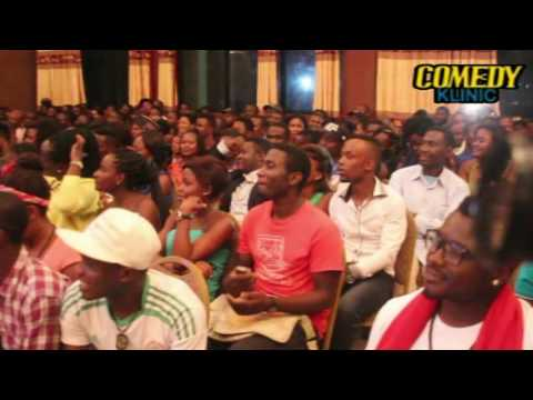 De Don live in Cameroon Gordons comedy klinic ward