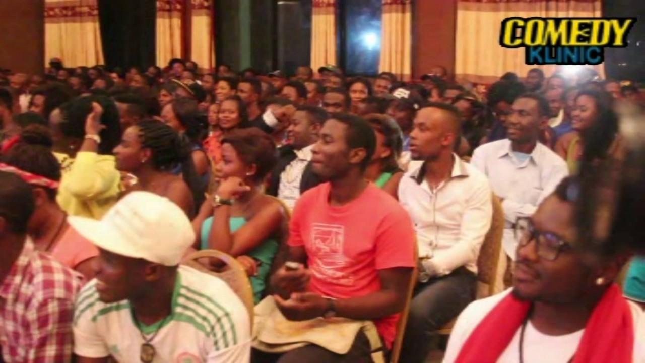 De Don live in Cameroon Gordons comedy klinic ward