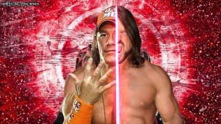"WWE Mashup: AJ Styles & John Cena ""My Time Is Phenomenal"" Theme song Remix"