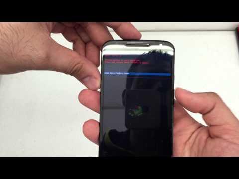 How to hard reset The Moto X 2nd Gen Republic Wireless Verizon Sprint Remove Password