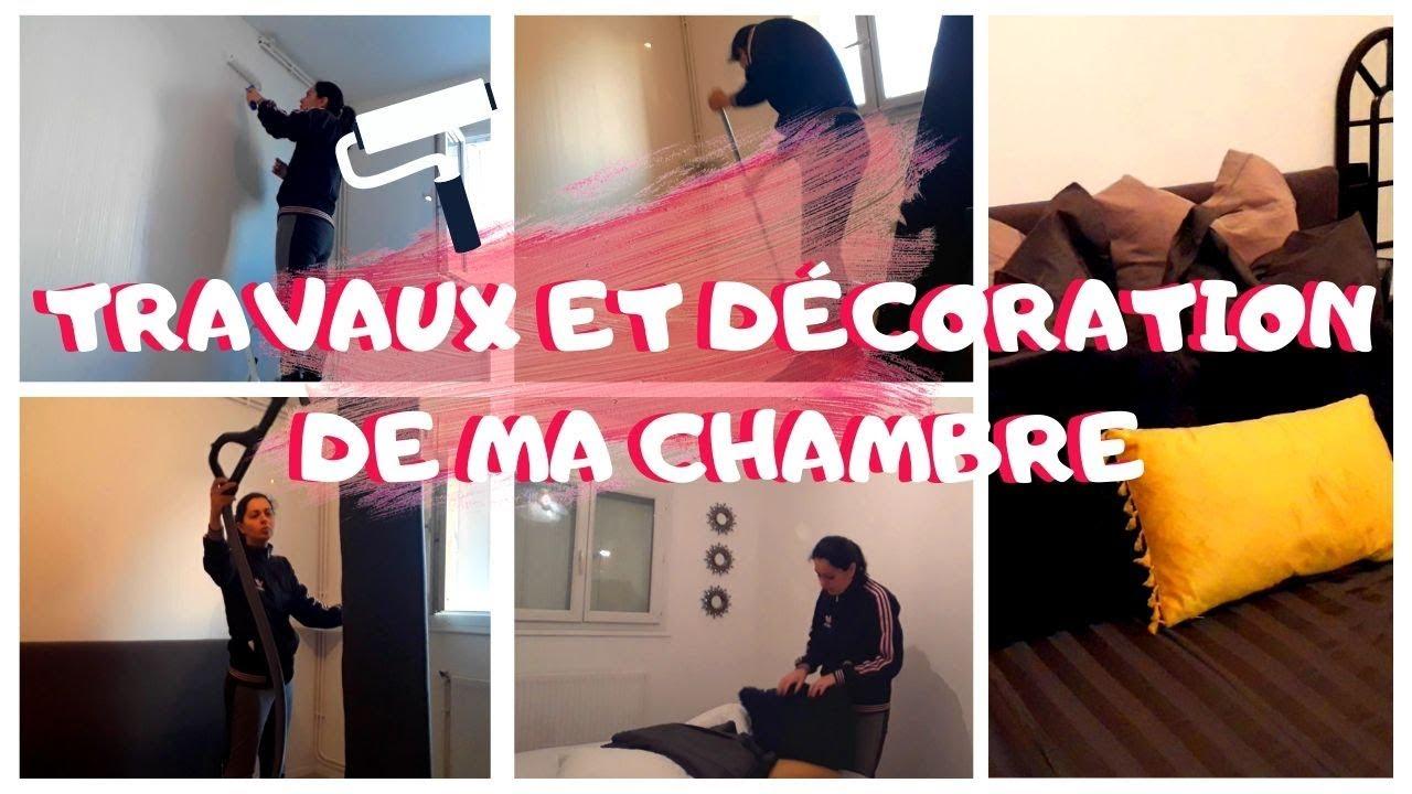 Peinture Tag Pour Chambre ??gros mÉnage+peinture et dÉcoration de ma chambre/mÉnage de printemps