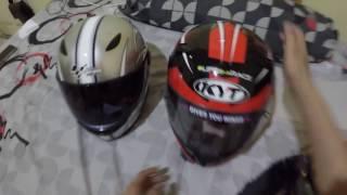 Tutorial, Pasang Tearoff di visor cembung | #MotovlogIndonesia