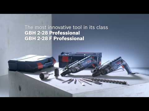 Видео обзор: Перфоратор SDS-plus BOSCH GBH 2-28