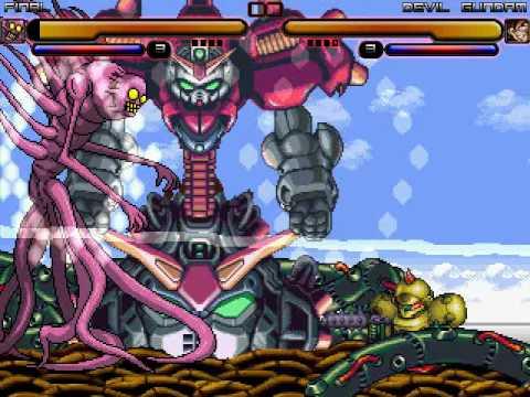 M.U.G.E.N Episode 1862 Final vs Devil Gundam - YouTube