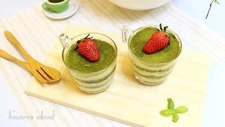 Matcha Green Tea & Mascarpone Trifle Recipe   Bizarre Island