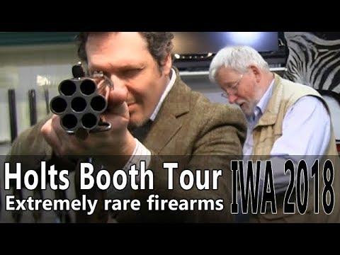 Extremely rare guns at Holts booth - IWA 2018 Part 5