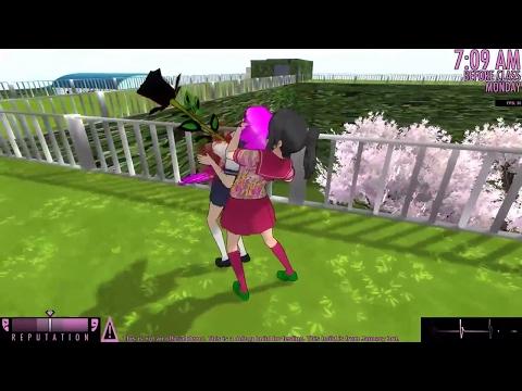 Rose of death Yandere simulator jardin mod
