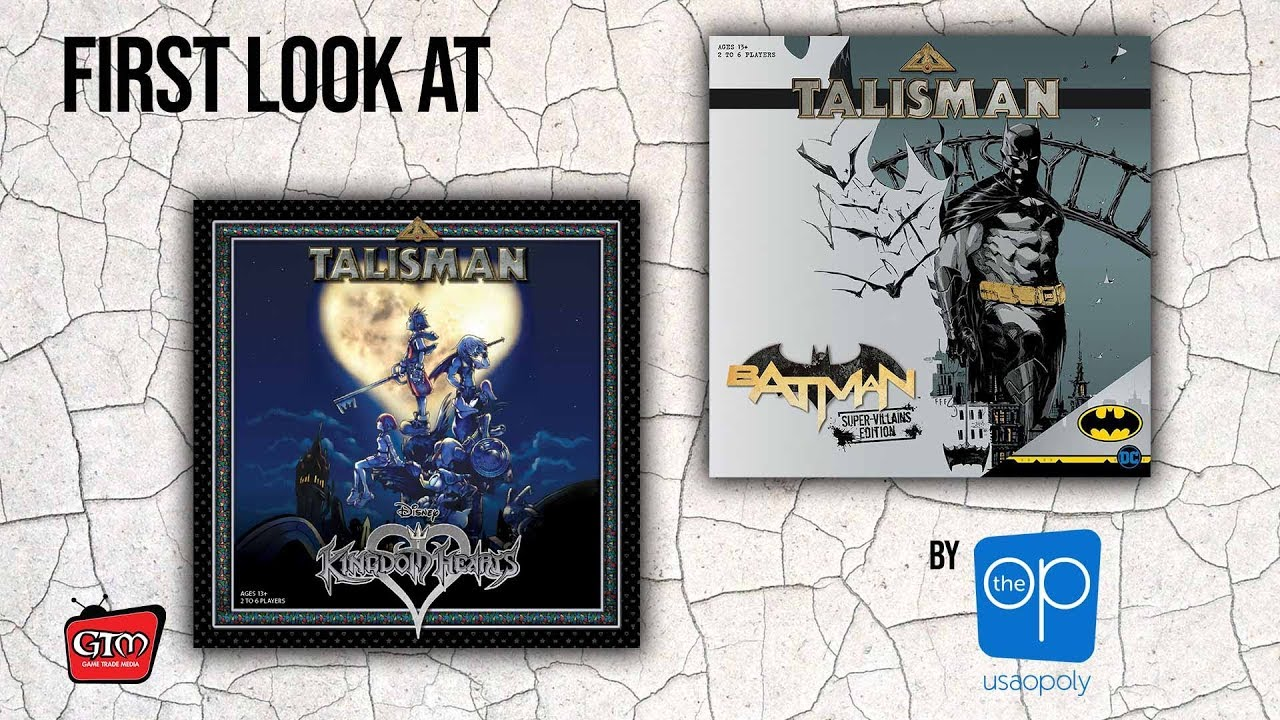 Talisman Kingdom Hearts And Talisman Batman Super Villians By