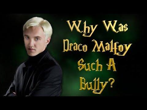 Why Was Draco Malfoy Such A Bully?