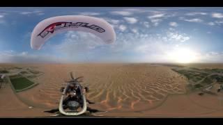 Skyhub Dubai, Paramotor, 360 video thumbnail
