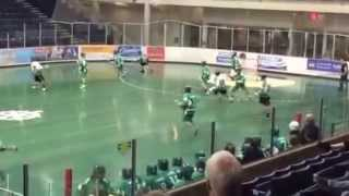 Big lacrosse hit leads to huge cheap shot and scrub