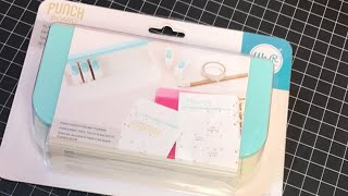 First look Planner Punch Board