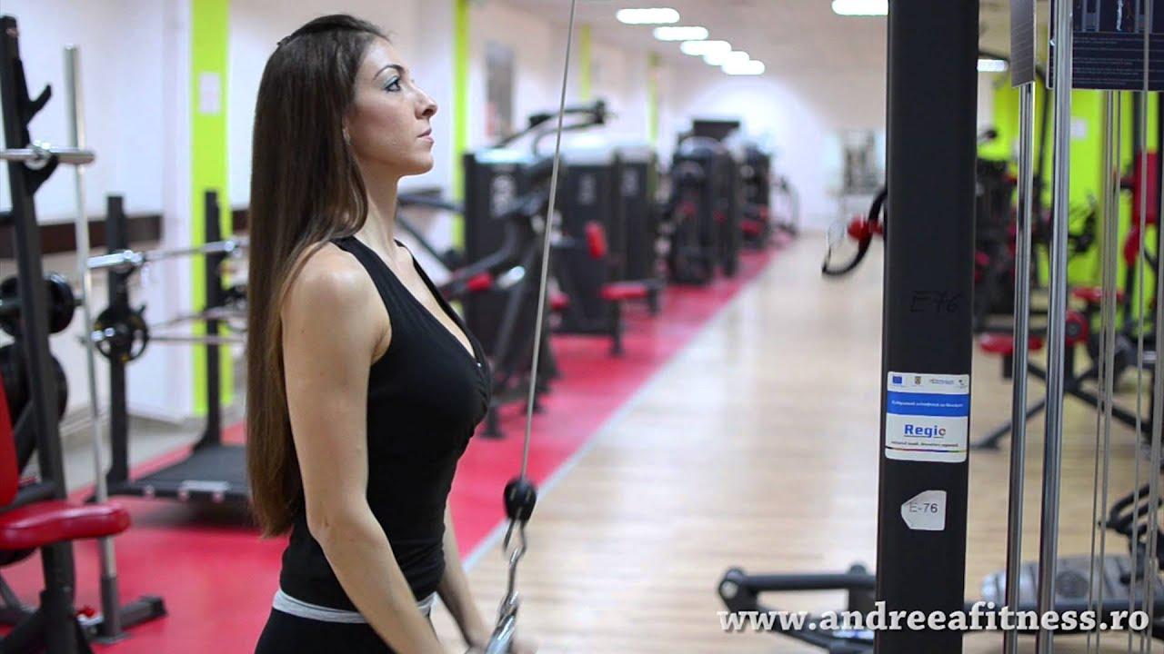 Program de exercitii la sala pentru fete si femei, Forme Fit Gym
