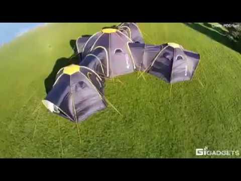 Самая удобная палатка для кемпинга! Туристы и любители отдыха на природе оценят - Видео онлайн