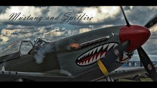 P-51D Mustang and Spitfire Mk.IX RAB documentary version