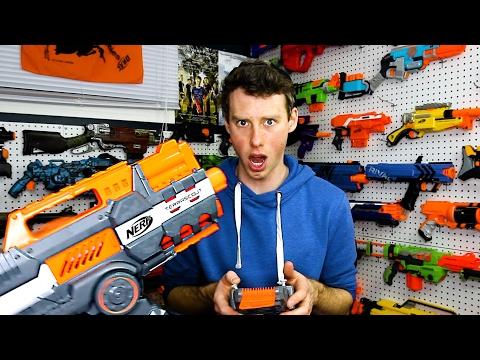 The NERF GUN GAME 6.0 Blasters!