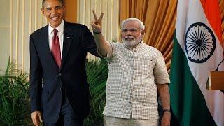 Modi and Obama funny moments PATEL BHAI