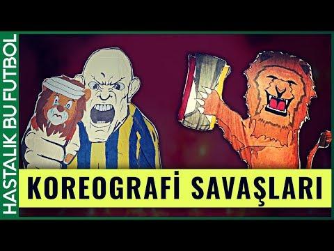 EN ÖZEL KOREOGRAFİLER | Galatasaray vs Fenerbahçe