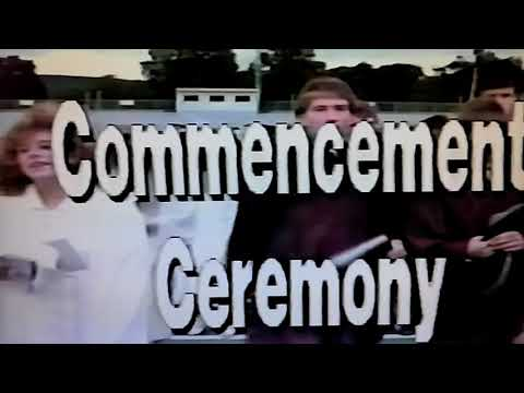 Altoona High School 1990 Graduation Ceremony