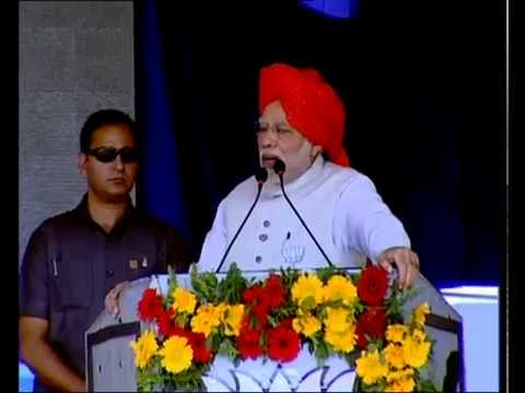 PM Modi addresses Public Meeting in Bharuch, Gujarat