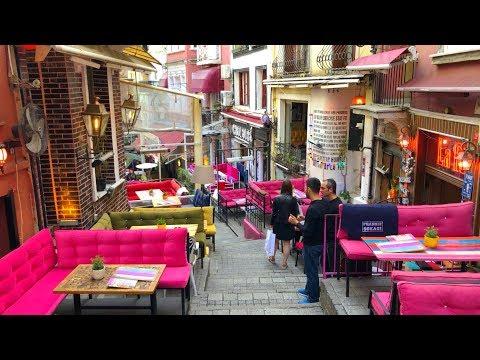Beyoğlu Istanbul, Walking Tour 2019